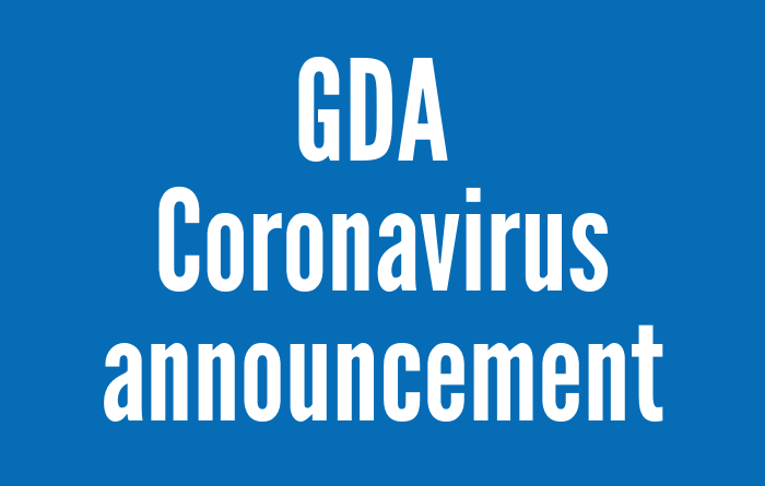 GDA Coronavirus update - 22nd April 2020