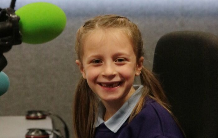 7yr old Amelia joins GDA to chat to BBC Radio Glos about 'Wear it Loud' day